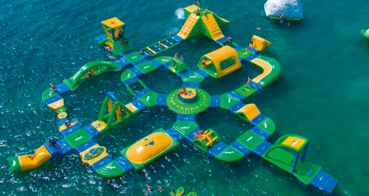 Report: Floating water park coming to Lake Michigan