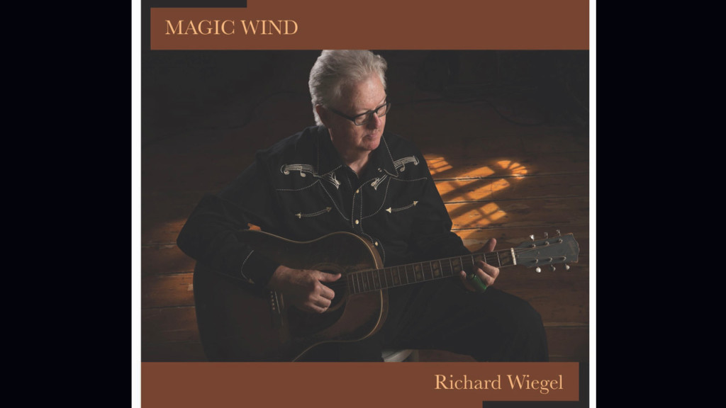 Richard Wiegel rides the 'Magic Wind'