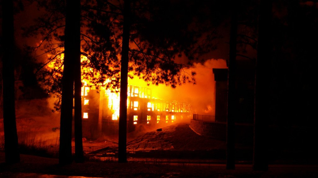 Fire at Wilderness Resort dormitory causes $5 million in damage, officials say