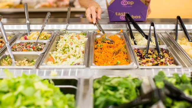 Salad bars have become an American tradition