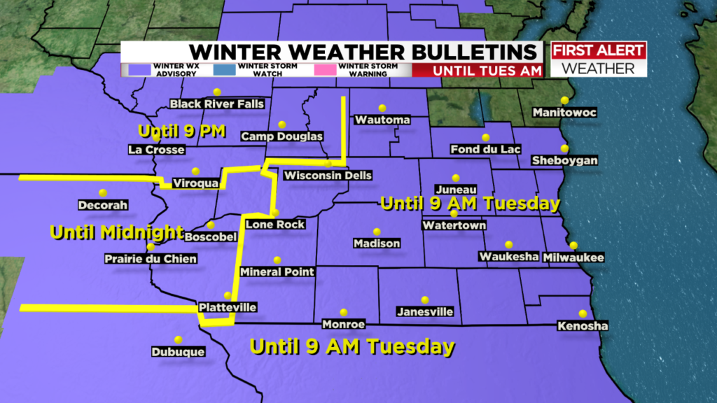 Freezing drizzle may impact roads