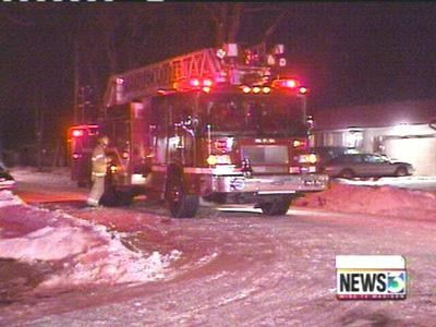 Fire destroys town of Windsor home