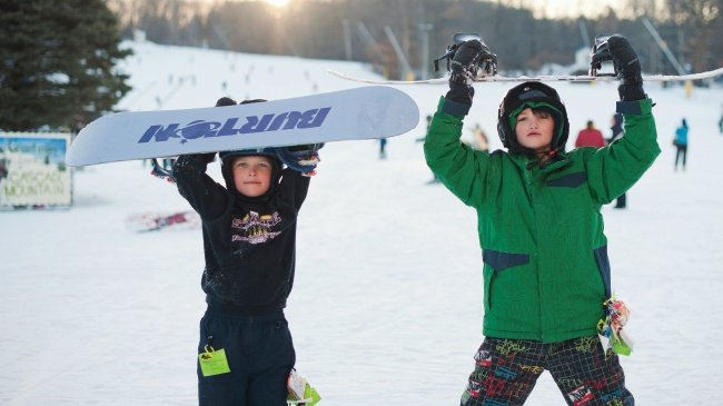 Best spots for winter sports in Madison