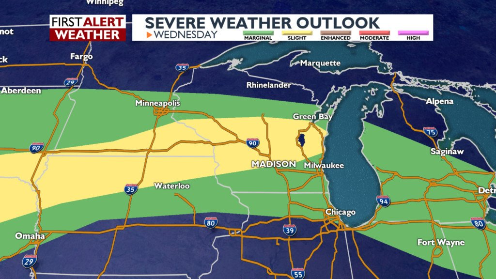 Strong storms, heavy rain possible today