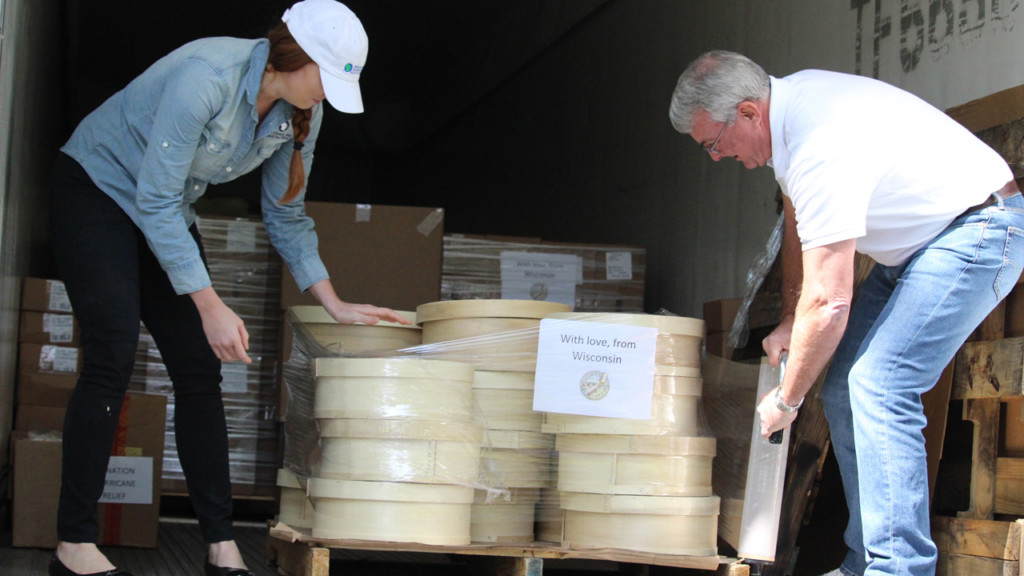 Wisconsin sending 17,000 pounds of cheese to Houston