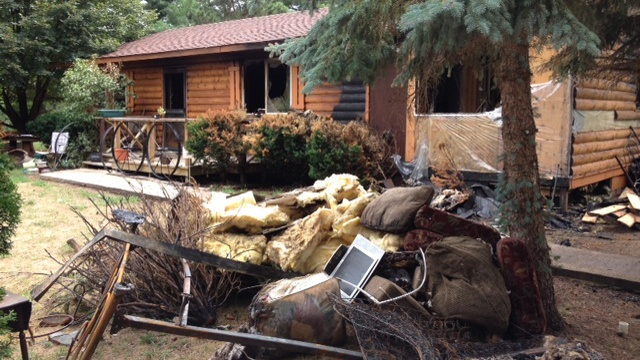 Wisconsin Dells family seeks help after fire destroys home