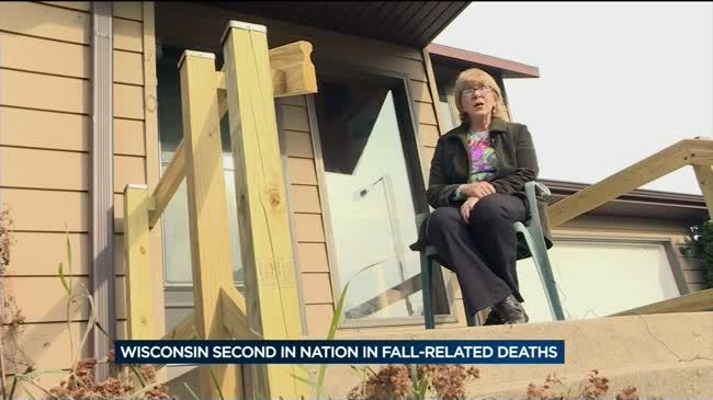 Wisconsin ranks second in fall-related deaths in the U.S.