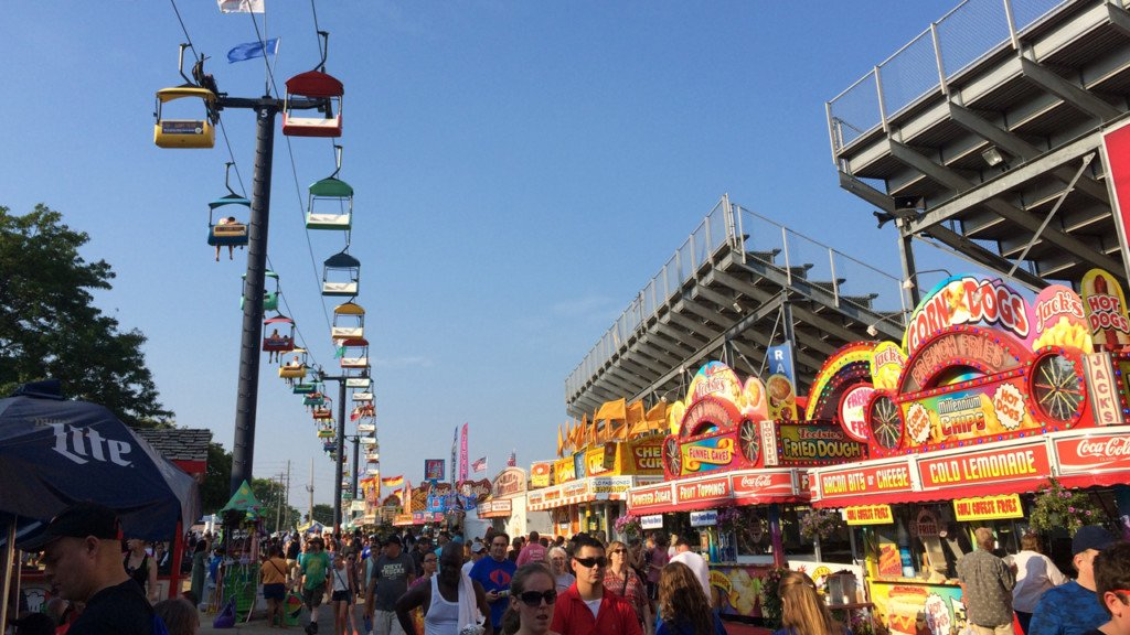 Bug tacos, snake soup some of the new food options at Wisconsin State Fair