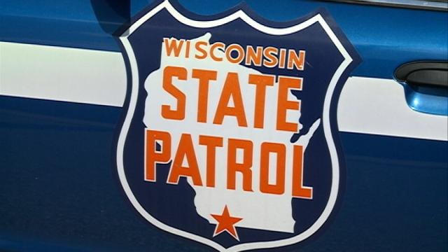 A Wisconsin State Patrol car