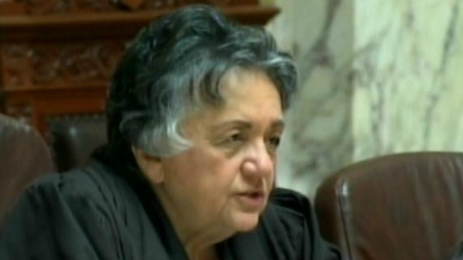 Judge Abrahamson absent from state Supreme Court without explanation