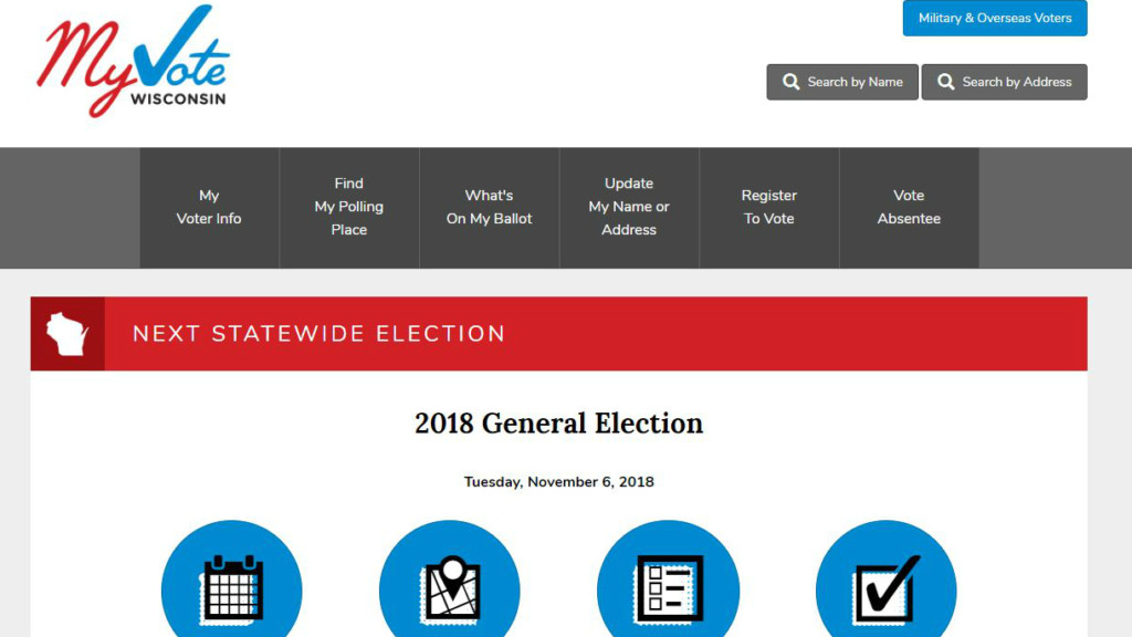 Wisconsin Elections Commission: Internet outages causing problems for some MyVote users