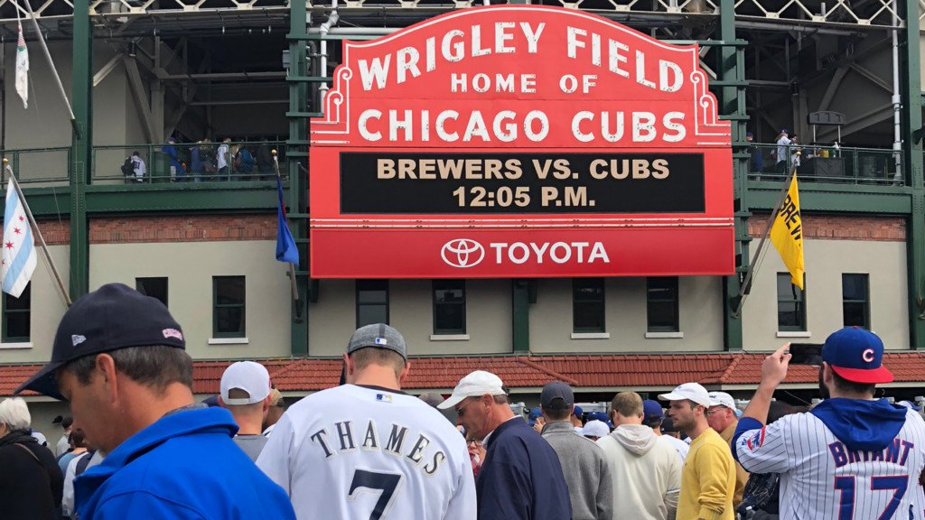 Wisconsin sports teams wish Brewers good luck ahead of game 163