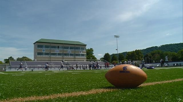 Winona State Warriors team begins practice remembering their fallen teammate