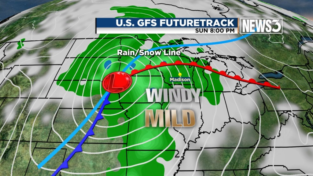 Brewing winter storm could make Christmas weekend soggy