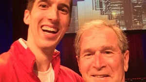 Badger selfies draw attention to social media policy
