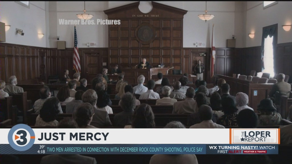 Loper Report: 'Just Mercy,' Golden Globes recap