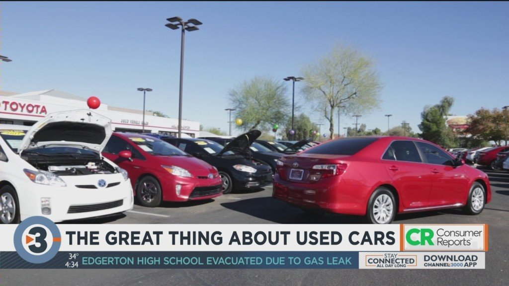 The great thing about used cars