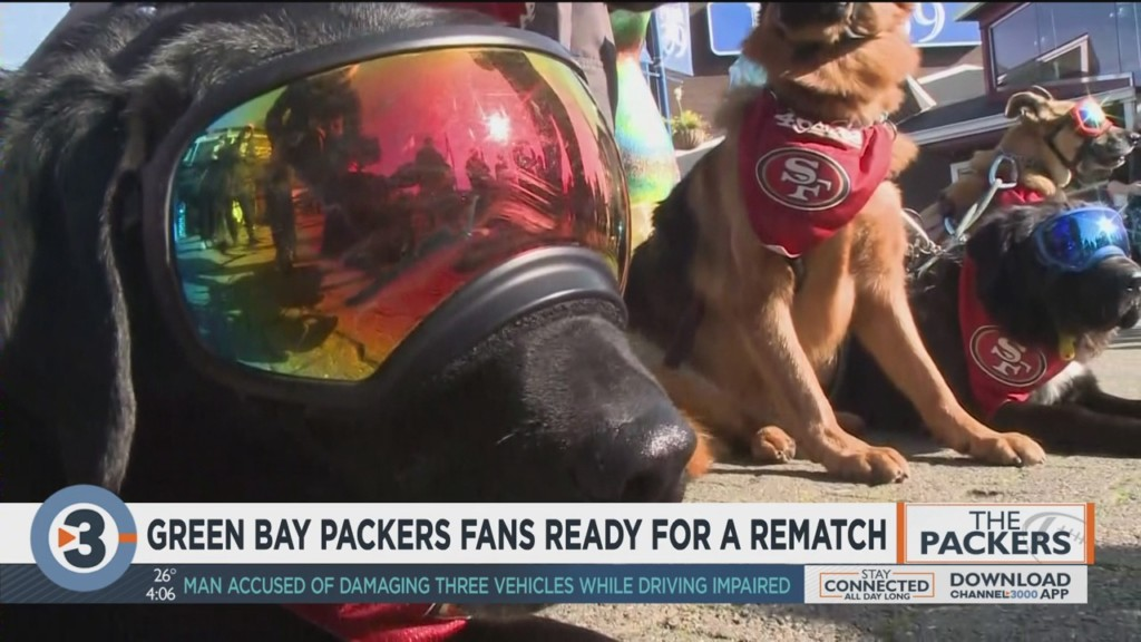Green Bay Packers fans ready for a rematch