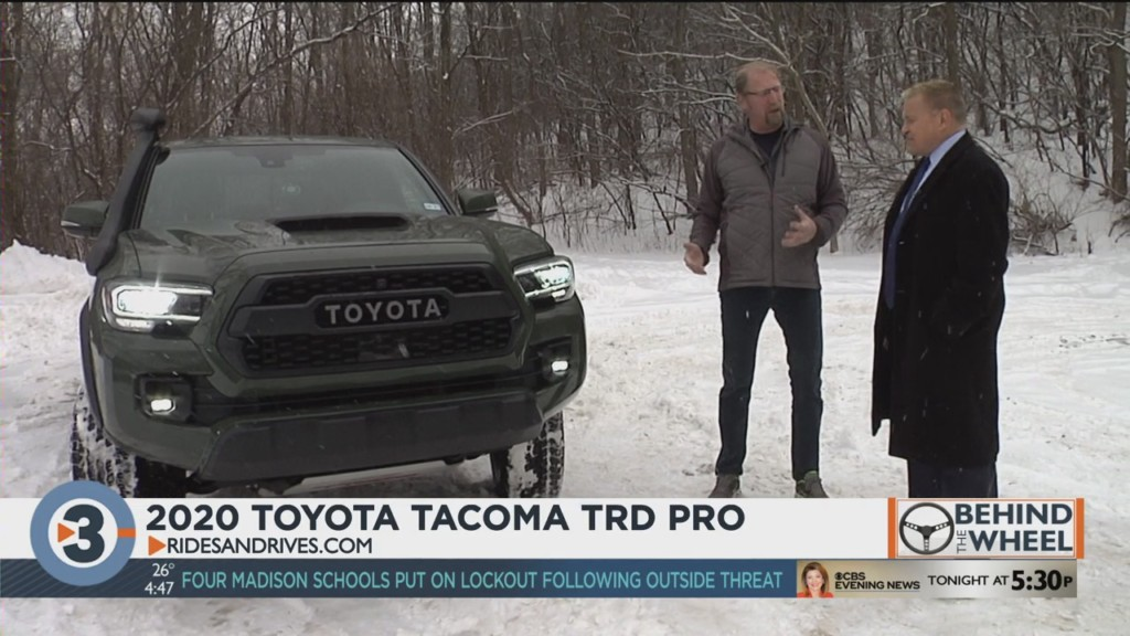 Behind the Wheel: 2020 Toyota Tacoma TRD Pro