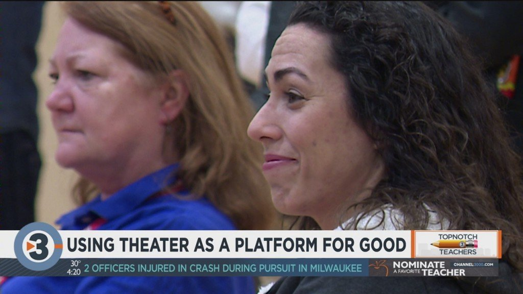 Topnotch Teacher: Using theater as a platform for good
