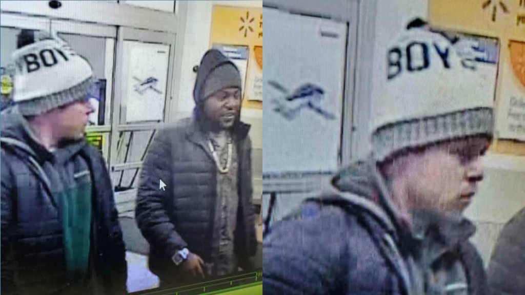 Photos of two suspected Beloit thieves