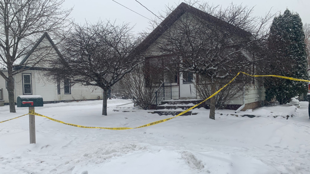 Elm Street home where police had a standoff with a subject on Jan. 17