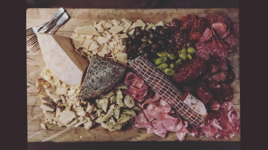 large charcuterie board