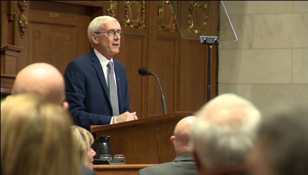 Gov. Evers addresses Legislature at State of the State address