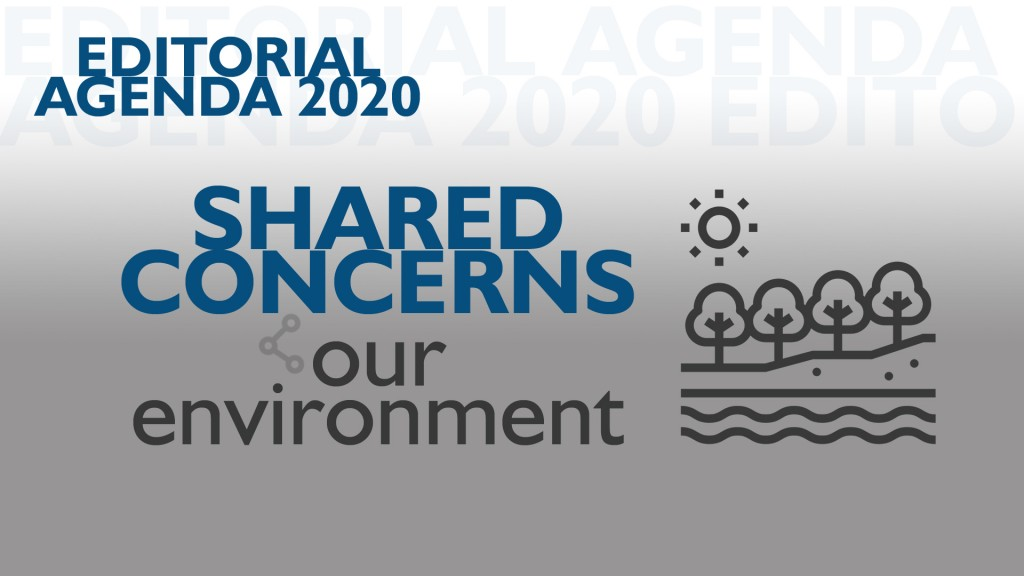 Editorial Agenda 2020 Shared Concerns Our Environment
