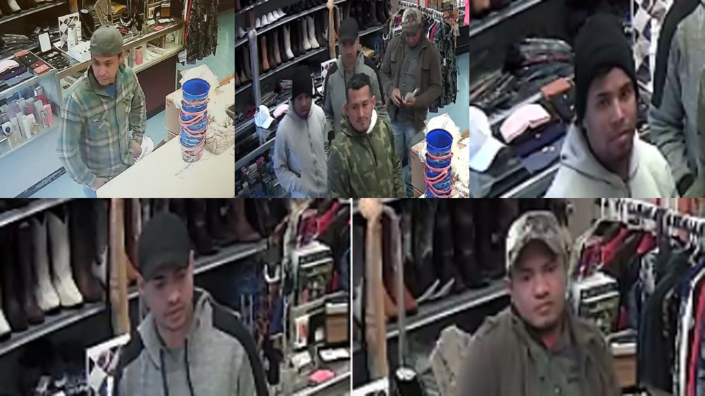 Photos of men suspected in a fraud case in Platteville