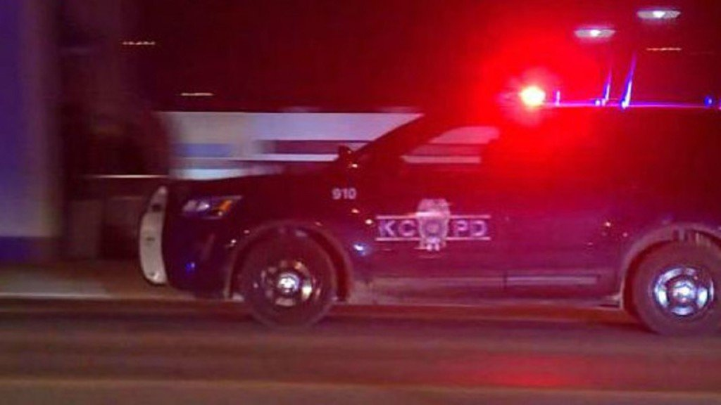 Generic KCPD squad vehicle at night