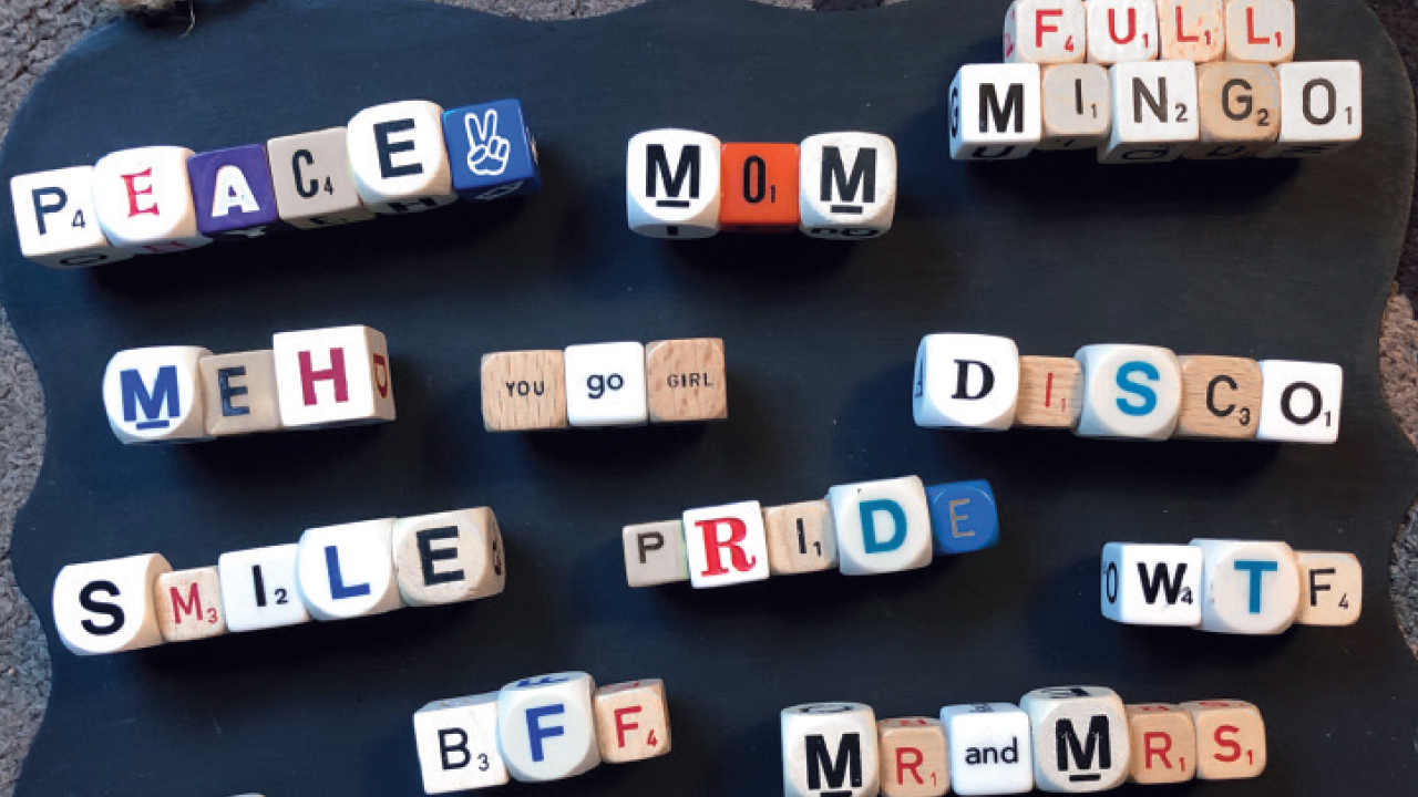 magnets that spell miscellaneous words