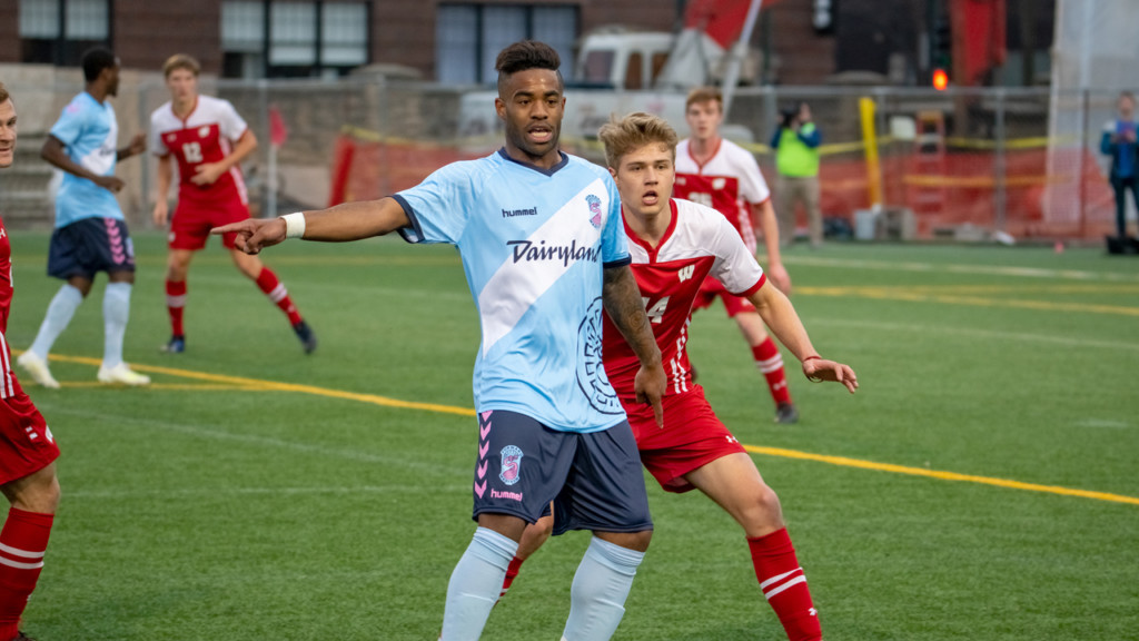 UW-Madison soccer versus Forward Madison FC