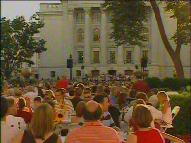 Concerts on the Square will be performed as scheduled