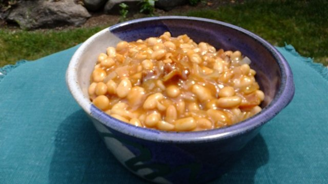 Donna's Homemade Baked Beans With Ham (Made With Canned Beans)