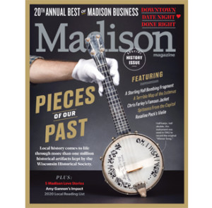 february 2020 cover of Madison Magazine