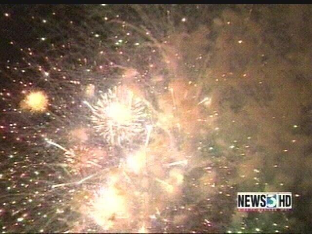 Thousands gather for Rhythm and Booms