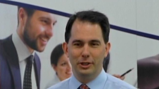 Walker: Not trying to poach Illinois companies