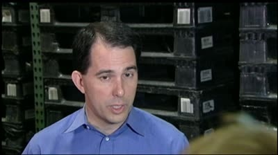 Walker, Barrett campaign before election