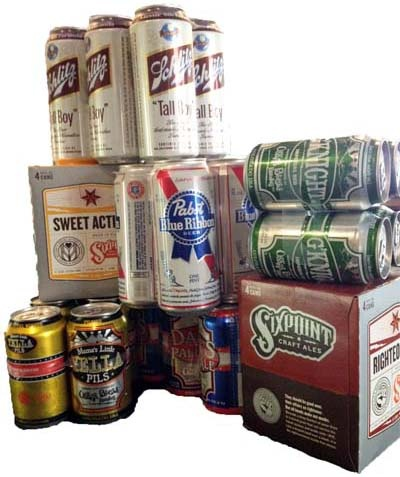 Summertime Canned Beer and Boxed Wine