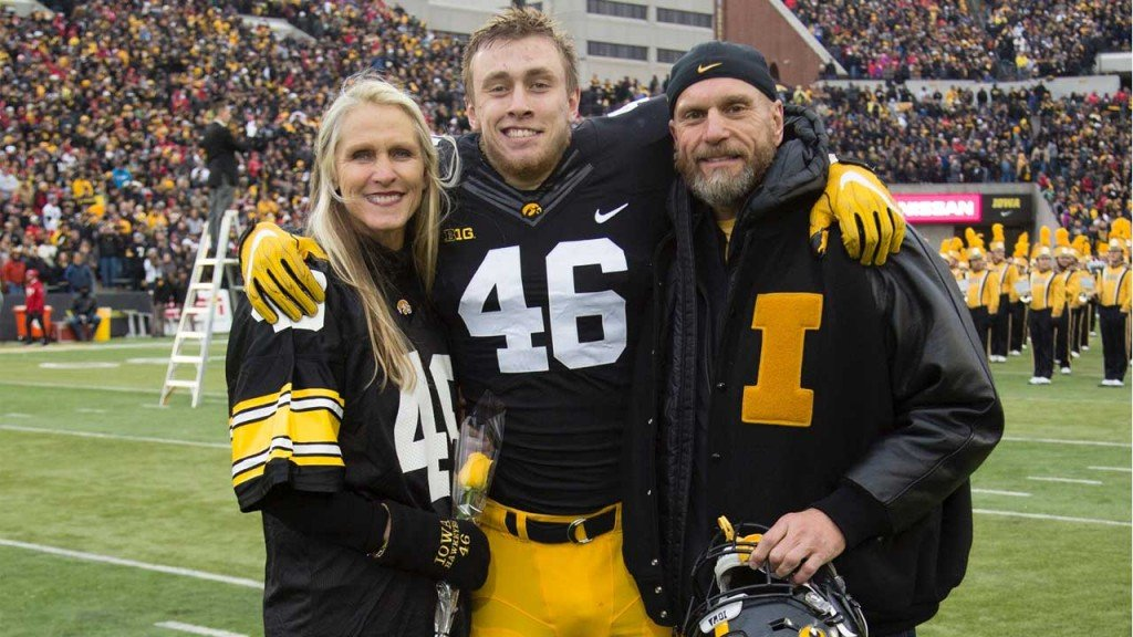 kittle and parents