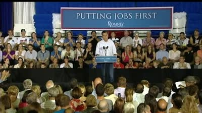 Romney predicts he'll win Wisconsin during Janesville stop