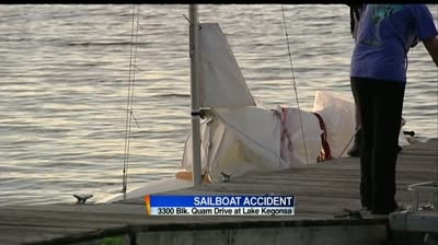 Man dies following sailboat accident on Lake Kegonsa