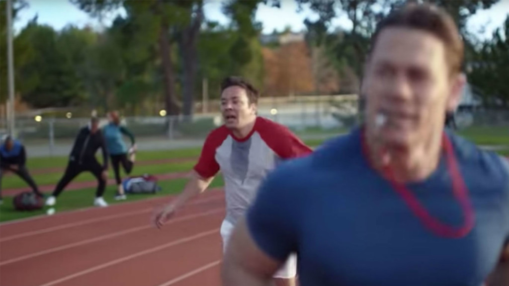 Superbowl ad starring Jimmy Fallon aims to inspire those who love beer but hate working out