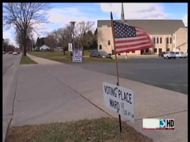 Long lines for historic Wisconsin recall election