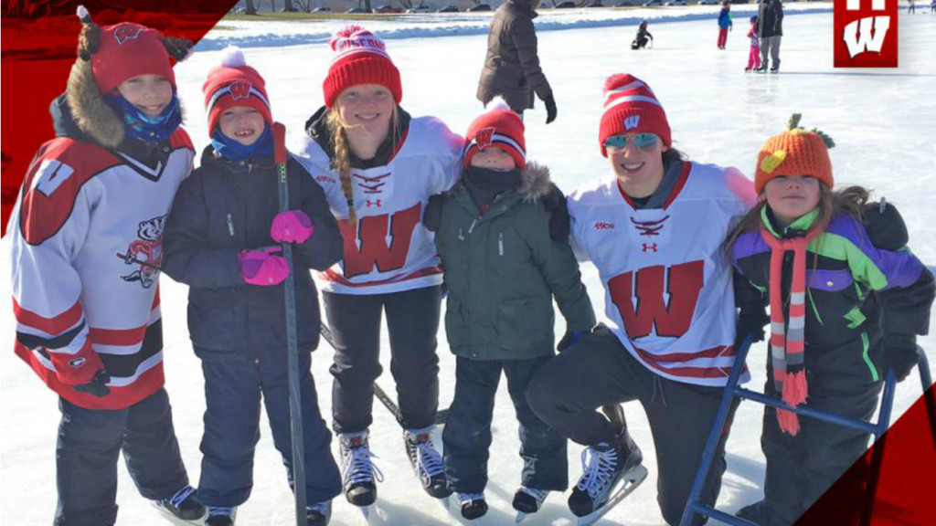 Meet and greet for UW-Madison women's hockey team