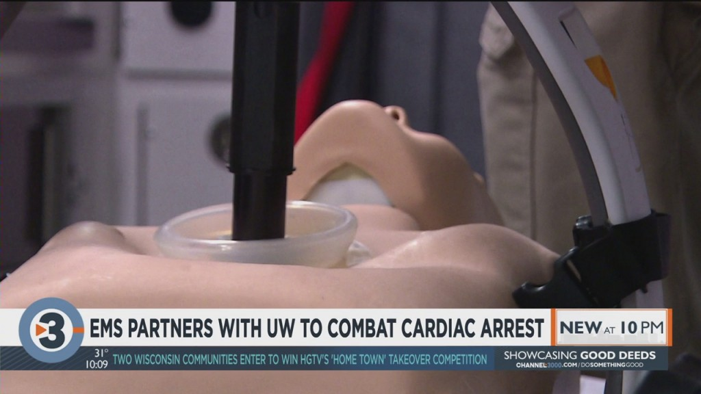 EMS partners with UW to combat cardiac arrest