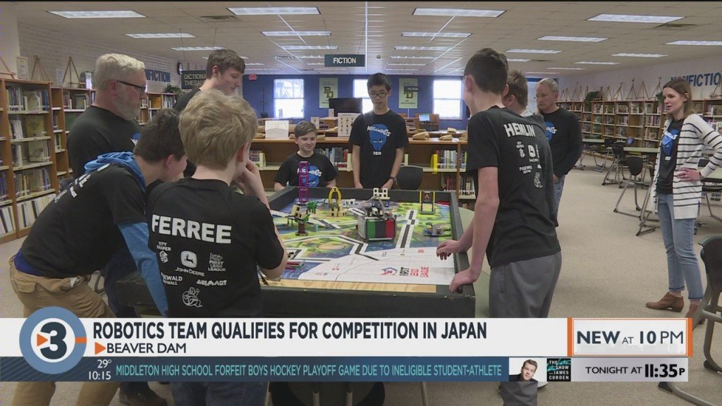 Robotics team qualifies for competition in Japan