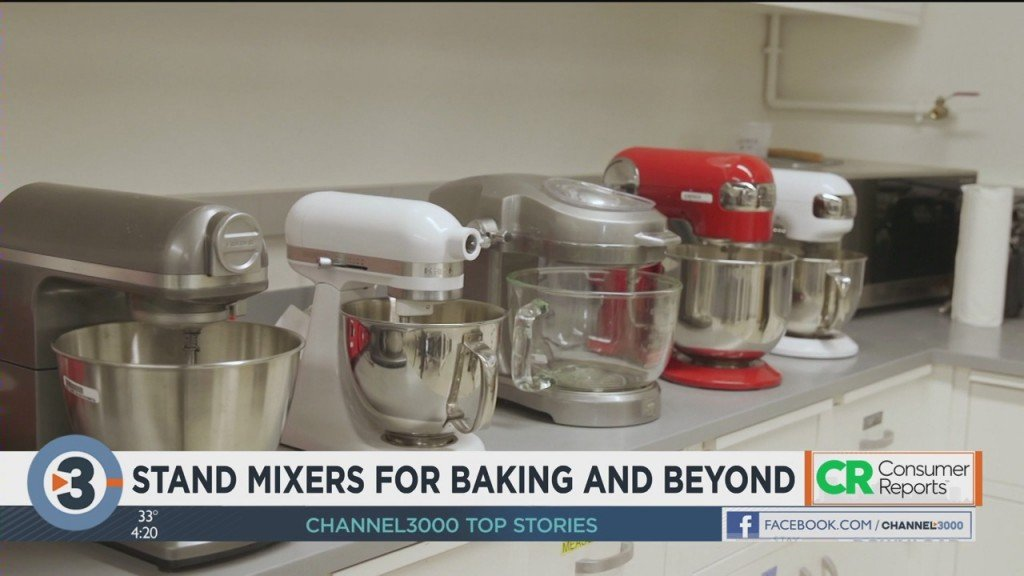 Consumer Reports: Stand mixers for baking and beyond