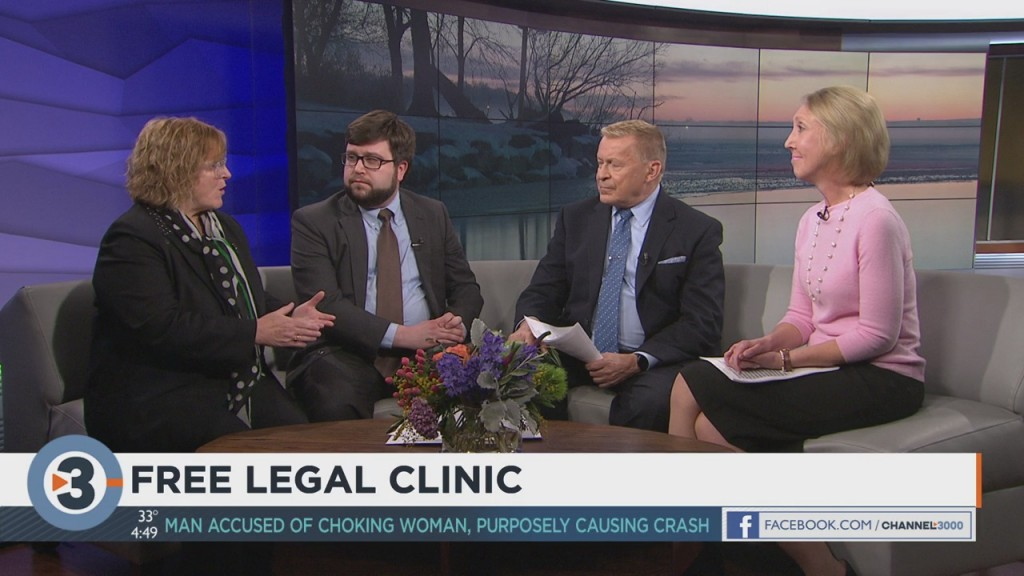 Providing a free legal clinic for those who need it